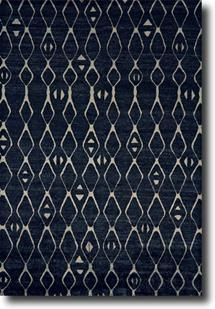 Mambasa-7087F-BLK000 Hand-Knotted Area Rug