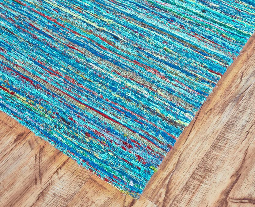 Arushi-0504F-AQU000 Area Rug collection texture detail