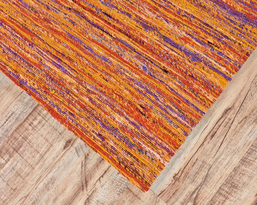 Arushi-0504F-ORNMLT Area Rug collection texture detail