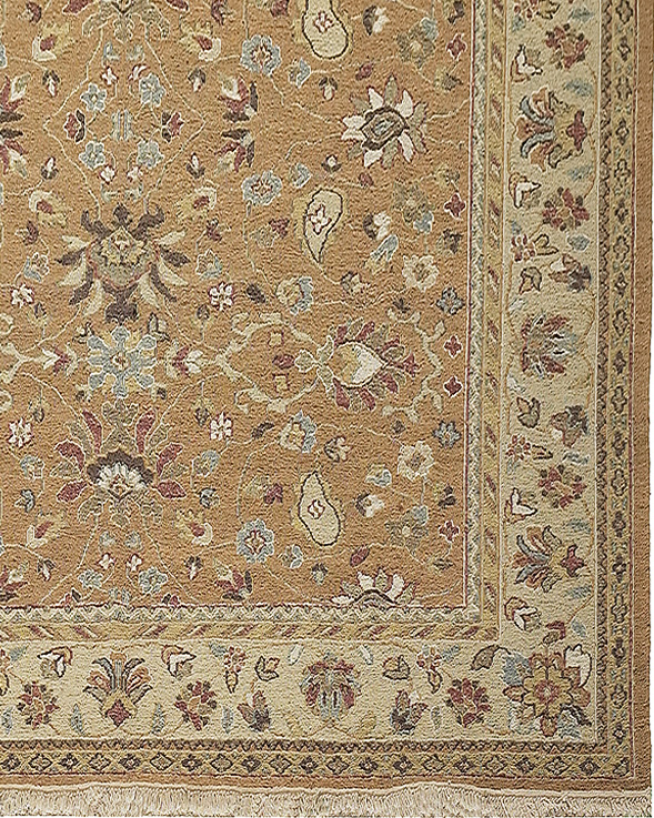 Ankara-AK02-Beige Camel Area Rug collection texture detail
