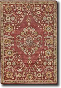 Ashi-6128F-RST000 Hand-Knotted Area Rug
