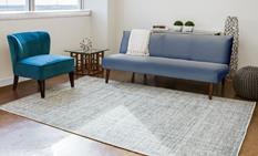 Burke-6560F-DNM000 Room Lifestyle Area Rug detail