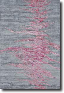 Cosmo-8625F-GXY000 Hand-Tufted Area Rug