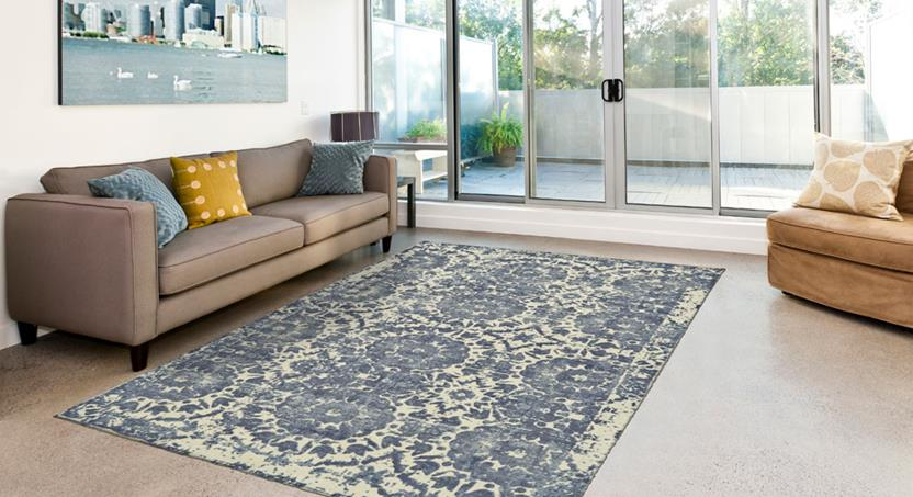 Dylan-8595F-WNT000 Room Lifestyle Hand-Tufted Area Rug detail