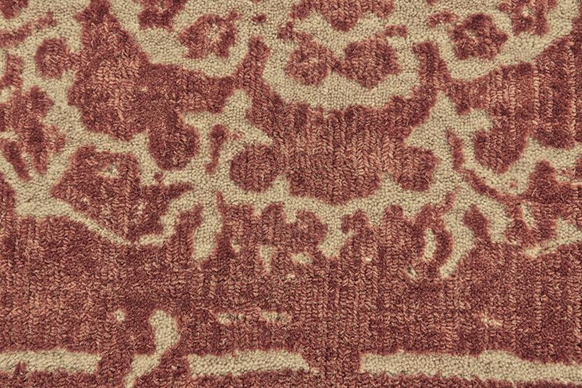 Dylan-8596F-RBY000 Hand-Tufted Area Rug collection texture detail