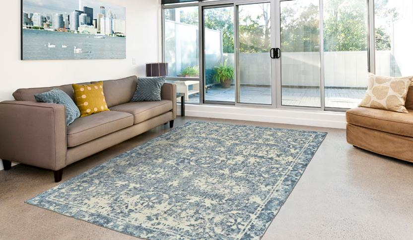 Dylan-8597F-RIV000 Room Lifestyle Hand-Tufted Area Rug detail