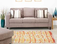 Lorrain-8566F-MNG000 Room Lifestyle Hand-Tufted Area Rug detail