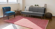 Mojave FZ-0556F-RED000 Room Lifestyle Area Rug detail