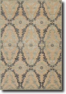 Saphir-3783F-IVYSLV Machine-Made Area Rug