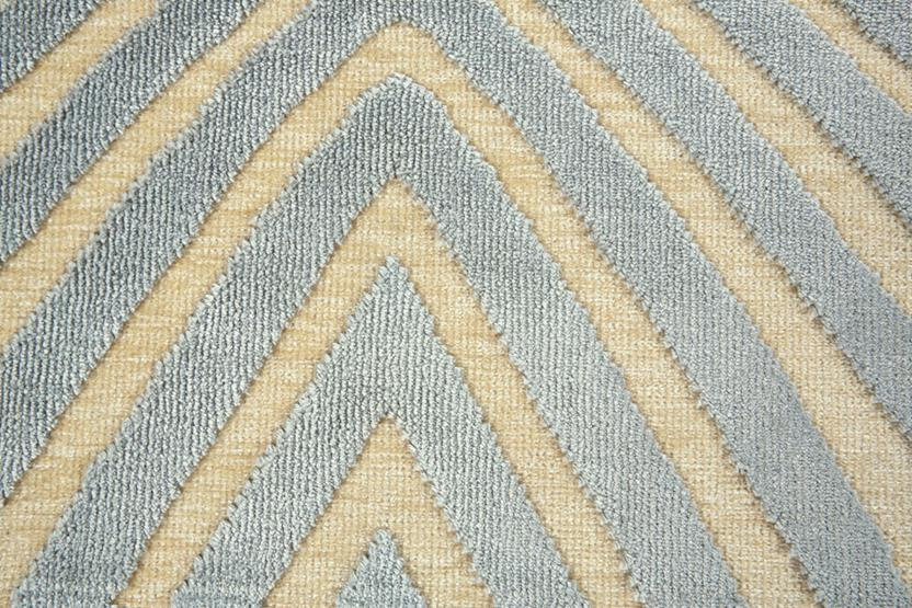 Saphir Callo-3261F-CRMSLV Machine-Made Area Rug collection texture detail