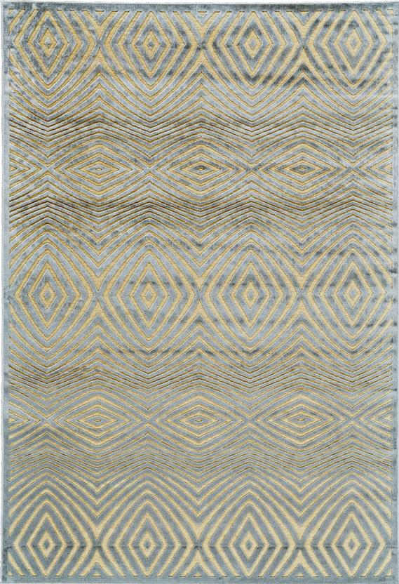 Saphir Callo-3261F-CRMSLV Machine-Made Area Rug