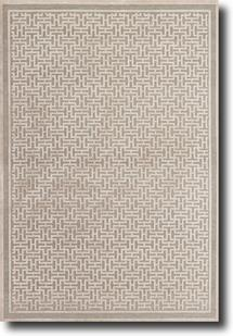 Saphir Zam-3097F-PEWLGY Machine-Made Area Rug