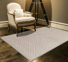 Saphir Zam-3097F-PEWLGY Room Lifestyle Machine-Made Area Rug detail
