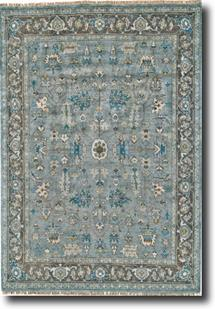 Ustad-6109F-STLCHO Hand-Knotted Area Rug
