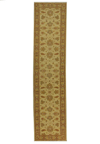 Attock-LA-35k-ivory orange taupe Hand-Knotted Area Rug