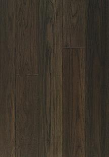 Signature Hardwood Hickory-Hickory-Black Powder S Engineered Hardwood Flooring