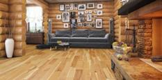 Signature Hardwood Hickory-Hickory-Tennesse Dawn S Room Lifestyle Engineered Hardwood Flooring detail