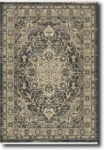 Titanium-39400-16002 Machine-Made Area Rug
