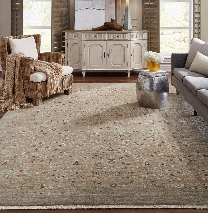 Titanium-39400-16003 Machine-Made Area Rug collection texture detail