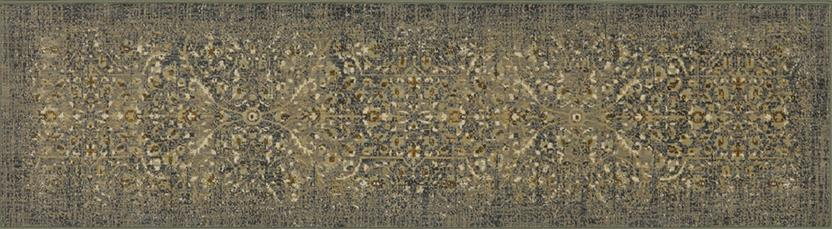 Titanium-39400-16006 Runner Machine-Made Area Rug detail