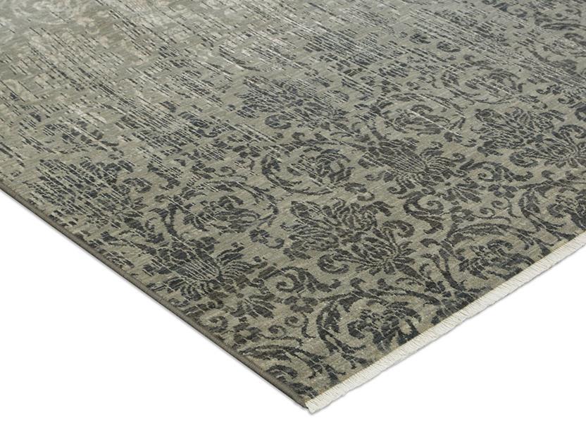 Titanium 39400 16009 machine made area rug alexanian for Alexanian area rugs