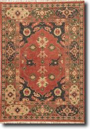 Village By Artemis-VBA02-Phantom Muted Clay Hand-Knotted Area Rug