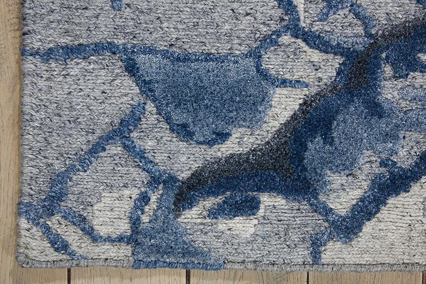 Divine-DIV02-MIST Hand-Knotted Area Rug collection texture detail