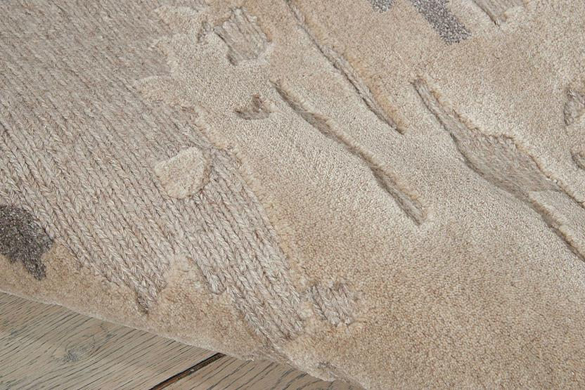 Divine-DIV05-ASH Hand-Knotted Area Rug collection texture detail