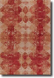 Project Error by Kavi-PRE08-Pumice Stone Brick Red Hand-Knotted Area Rug