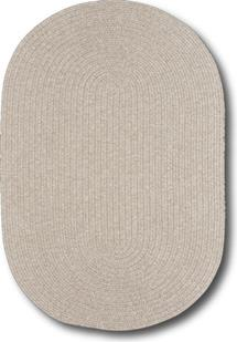 Simplicity Oval-865-650-Linen Indoor-Outdoor Area Rug