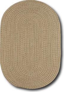 Simplicity Oval-865-700-Flax Indoor-Outdoor Area Rug