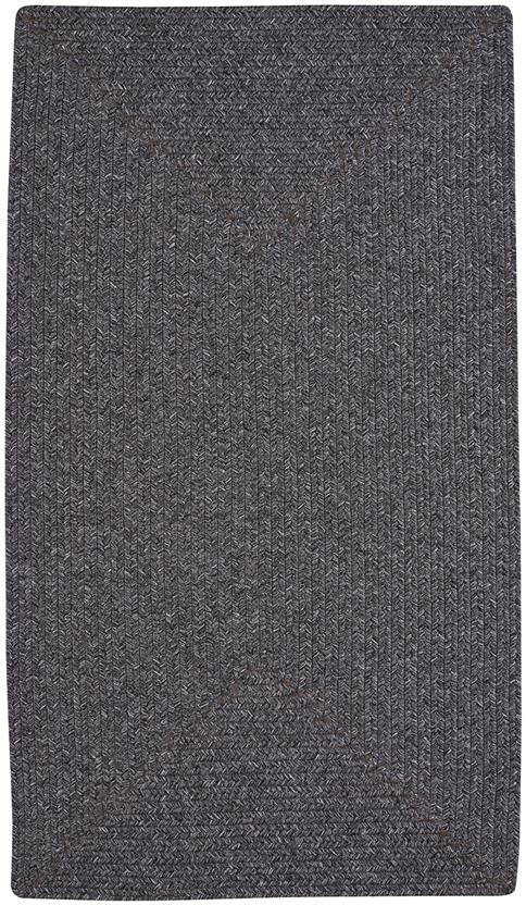 Simplicity Concentric Rect.-865-350-Metal Indoor-Outdoor Area Rug
