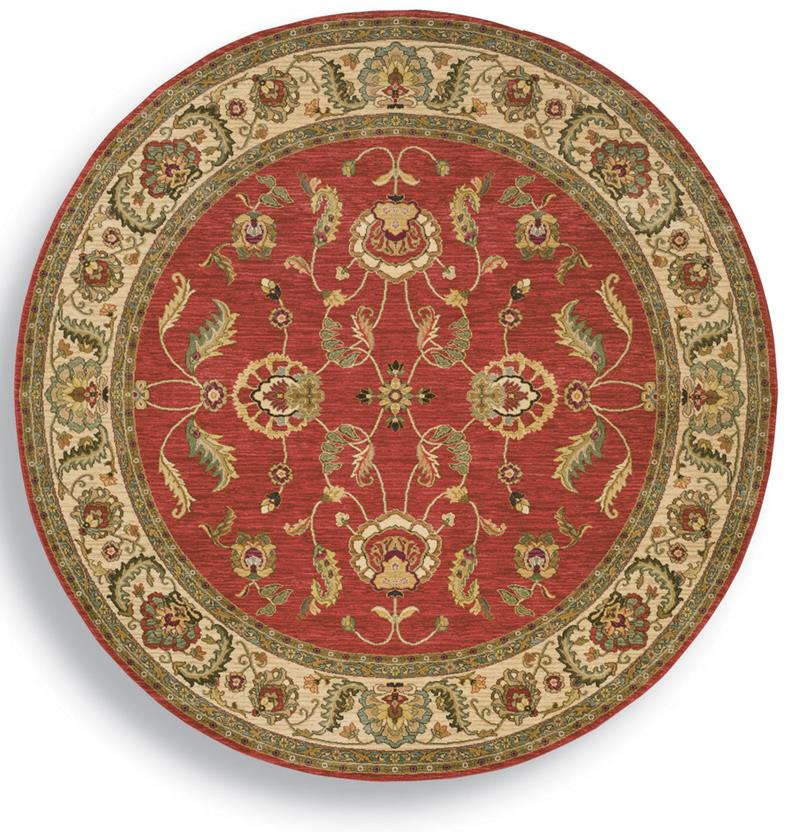 Ashara-549-15002 Round Machine-Made Area Rug detail