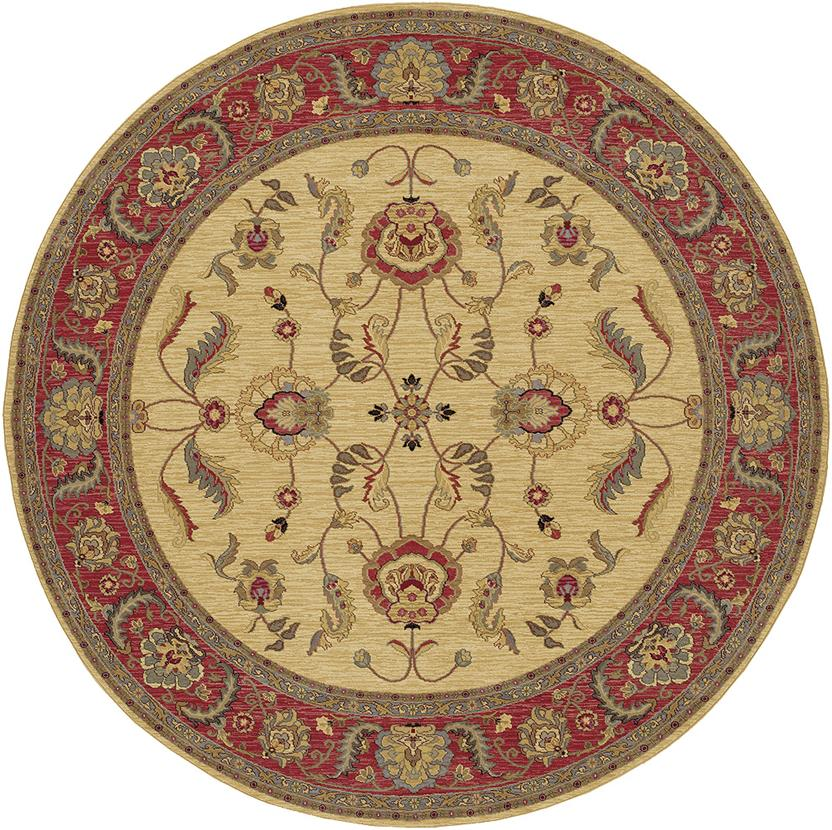 Ashara-549-15005 Round Machine-Made Area Rug detail