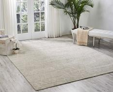Ocean-OCP02-PEARL Room Lifestyle Hand-Knotted Area Rug detail