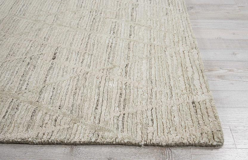 Ocean-OCP02-PEARL Hand-Knotted Area Rug collection texture detail