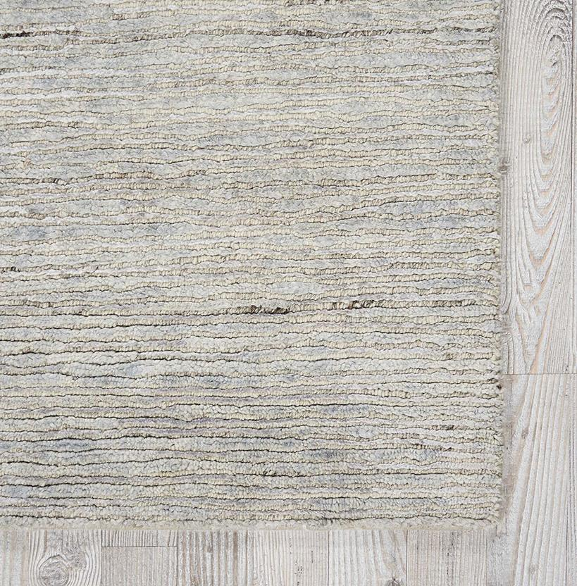 Ocean-OCS01-MIST Hand-Knotted Area Rug collection texture detail