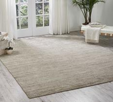Ocean-OCS01-SAND Room Lifestyle Hand-Knotted Area Rug detail