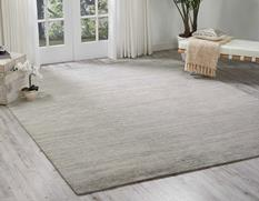 Ocean-OCS01-SHELL Room Lifestyle Hand-Knotted Area Rug detail
