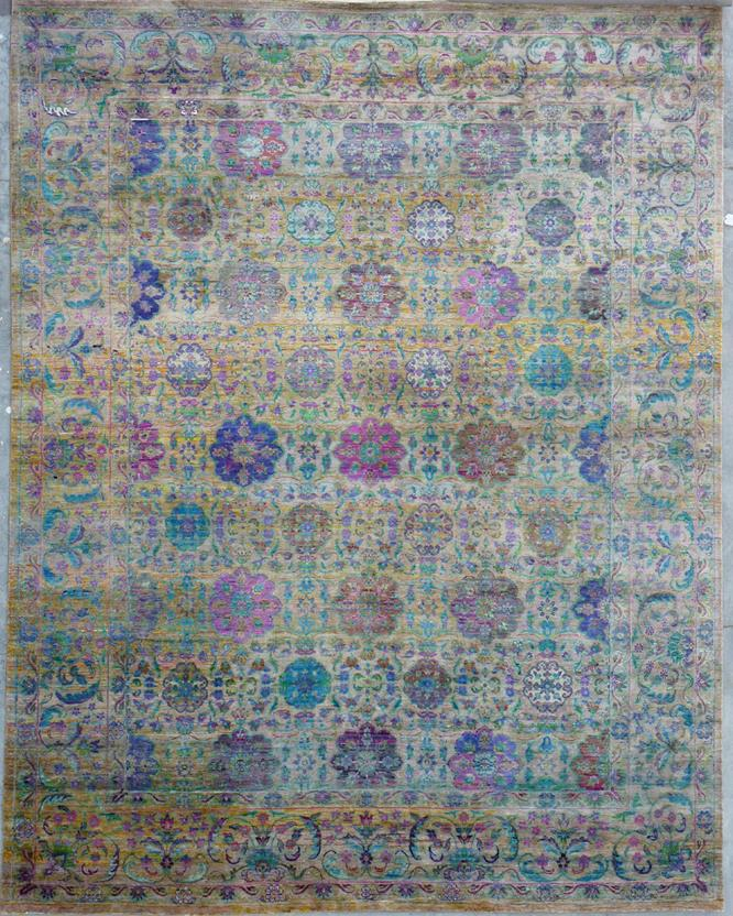 Narike-ALX1-Multi Hand-Knotted Area Rug