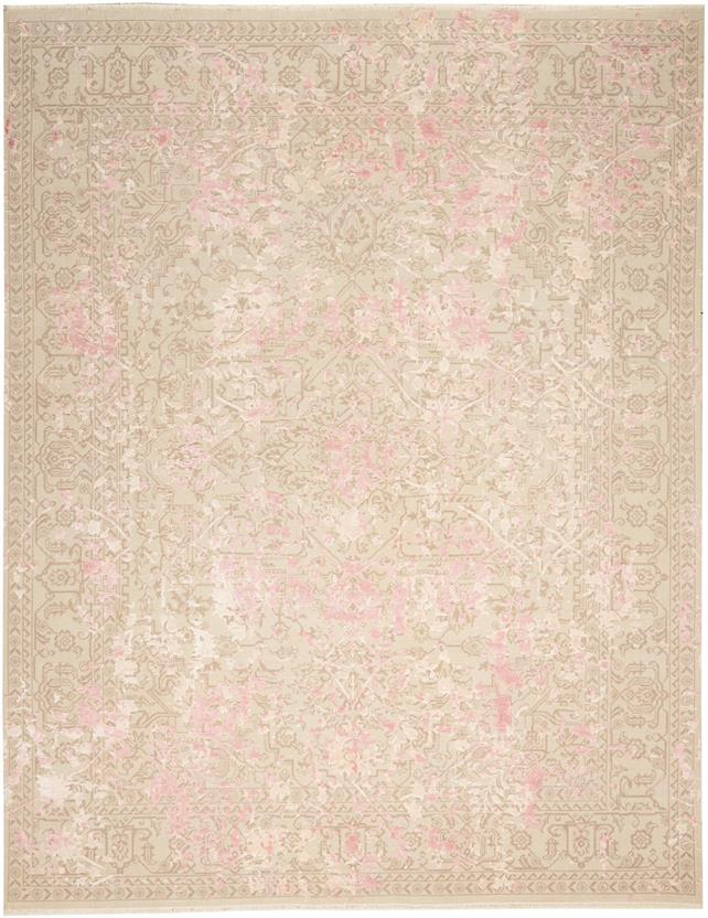 Lavie-ALX4-Pink Beige Hand-Knotted Area Rug