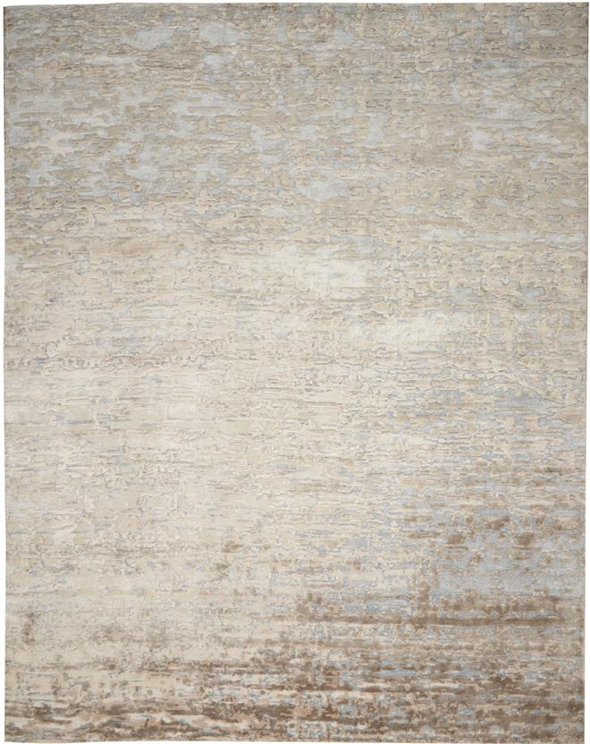 Paesaggio-ALX6-Beige Blue Hand-Knotted Area Rug