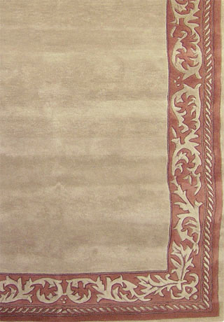 Gothic-Taupe Terracotta Hand-Tufted Area Rug