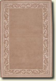 Gothic-Taupe Beige Hand-Tufted Area Rug