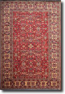Kazak-KZT-37-Red Hand-Knotted Area Rug