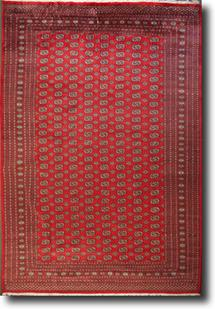 Bokhara-Mori-1025-9-Red Hand-Knotted Area Rug