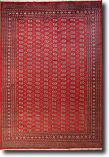 Bokhara-Mori-1027-10-Red Hand-Knotted Area Rug