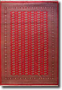 Bokhara-Mori-1032-12-Red Hand-Knotted Area Rug