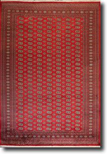 Bokhara-Mori-1033-12-Red Hand-Knotted Area Rug