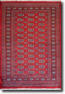 Bokhara-Mori-1065-21-Red Hand-Knotted Area Rug